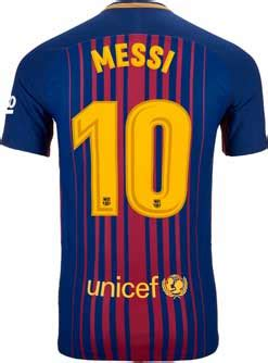 Tshirt Player Desain Nvf Ronaldinho 3 nike lionel messi barcelona match home jersey 2017 18
