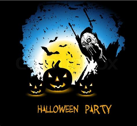 grunge background  halloween party stock photo colourbox