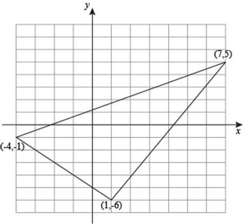 triangles on the coordinate plane examples