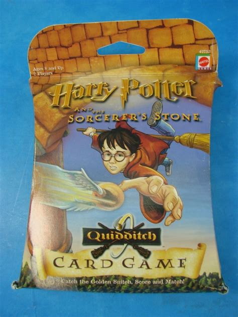 harry potter and the sorcerer s enchanted postcard book books mattel harry potter brujo piedra quidditch card 42753