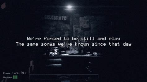 five nights at freddys song | tumblr