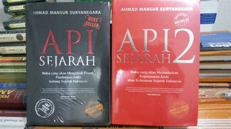 Ringkasan 5 Buku Best Seller Seri 1 resensi buku api sejarah ungkap kebenaran sejarah