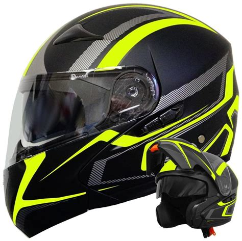 Motorradhelm Aufkleber Neon by Klapphelm 109 Motorradhelm Helm Gr M Rollerhelm Real