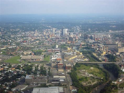 Search Rochester Ny Rochester Ny Looking South Toward Downtown Rochester From The Air Photo Picture