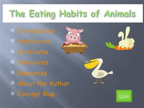 Food And Feeding Habits Of Animals Worksheets