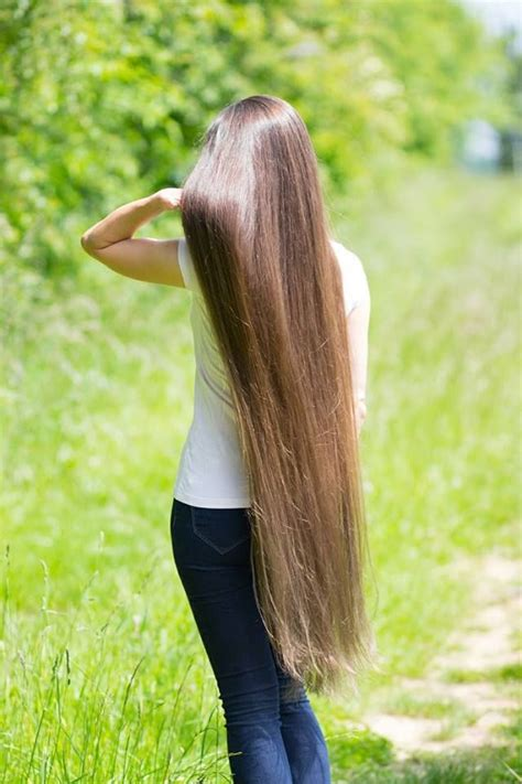 extra long hair styles 1394 best floor length hair images on pinterest