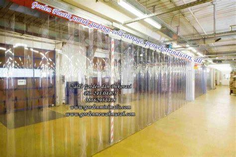 Gorden Shabby 150x250cm Blackout 5 jual tirai plasti atau gorden plastik transparan untuk