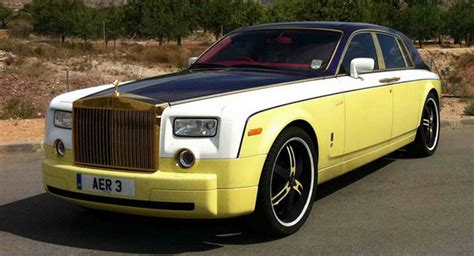 Gamis Zoda Polos rolls royce owners adds some color to phantom limo