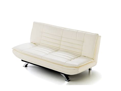 sofa cama clic clac polipiel blanco