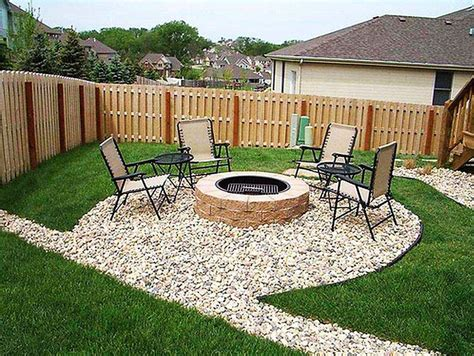 backyard designs ideas with outdoor fire pit