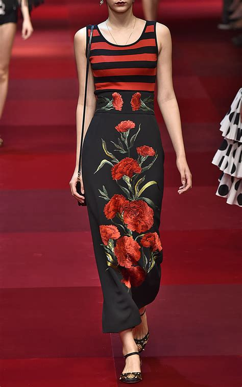Of The Week Dolce Gabbana Striped Lurex Knit And Chain Shorts by Dolce Gabbana Striped Sleeveless Knit Top In Lyst