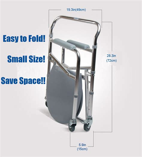 Commode Chair Canada by Folding Aluminum Shower Chair Wheelchair Commode Wheels