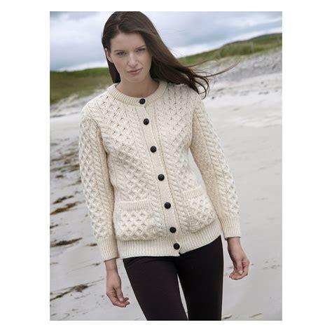 Jaket Sweater Cardigant womens aran cardigan sweaters sweater vest