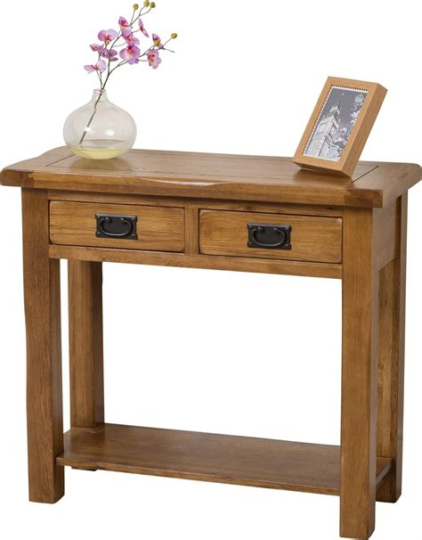 oak console cotswold oak console table oak furniture king