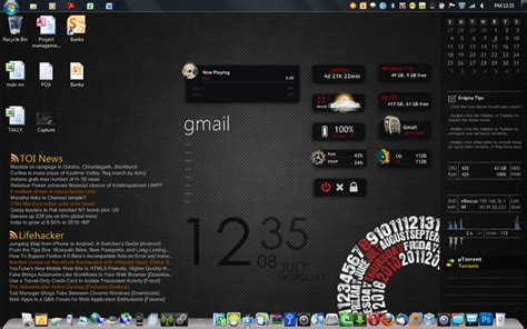 rainmeter themes kali linux 60 tema windows 7 keren terbaru 2017 kumpulan tema windows
