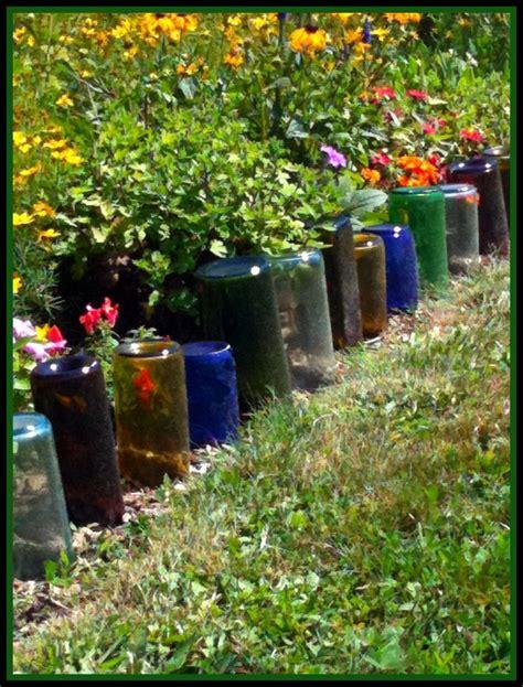 Piedras Decorativas De Jardin #8: Valla-flores-botellas-colores.jpg