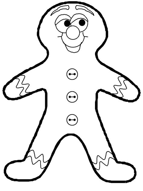 printable gingerbread man coloring pages gingerbread man coloring page coloring home