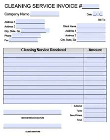 cleaning service template free house cleaning service invoice template excel pdf