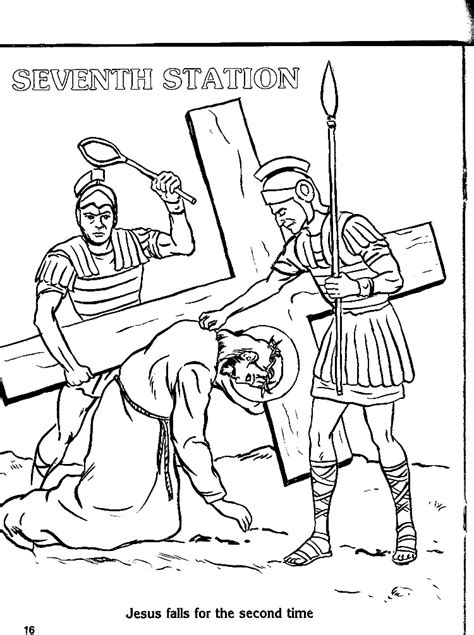 coloring book pages stations of the cross stations of the cross for children coloring pages az