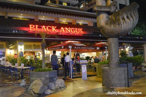 black angus steak house chubby botak koala singapore food blog travel and lifestyle black angus steaks