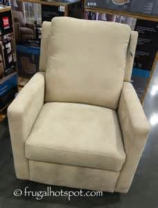 costco sale true innovations glider swivel recliner 239