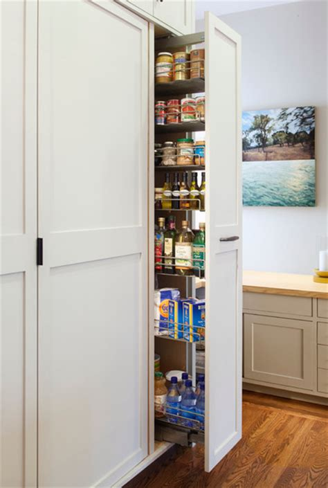 Valley Pantry by Cole Valley Residence Vertical Pantry Traditional