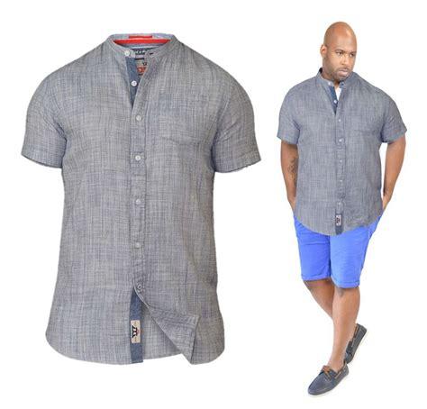 Blouse Big Size Tali big mens king size shirt collarless sleeve 3xl