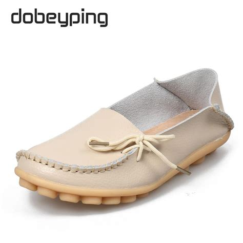 are moccasins comfortable hot sale new women genuine leather shoes moccasins mother