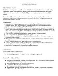 Cover Letters For College Applications by Sle Cover Letter For College Admissions Free Cover Letter