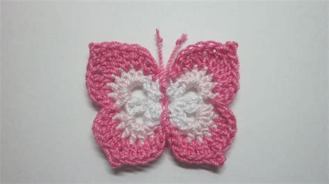 butterfly pattern in crochet crochet butterfly tutorial new hd 2017 youtube