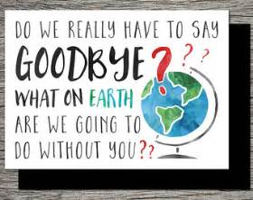 the perfect goodbye card for a good friend neighbor or