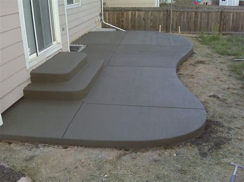 Perfect Concrete Patio Designs Unique Hardscape Design Design Concrete Patio