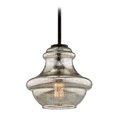 Kichler Lighting Everly Kichler Lighting Everly Olde Bronze Mini Pendant Light With Urn Shade 42167ozmer Destination