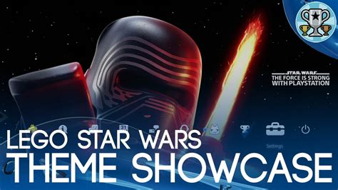 themes ps4 star wars lego star wars the force awakens ps4 theme showcase