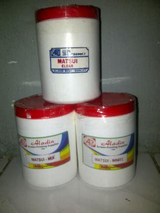 Tinta Sablon Plasticharge Rutland White kualitas sablon kaos terbaik dengan matsui rubber pasta sablon clothing kaos balikpapan