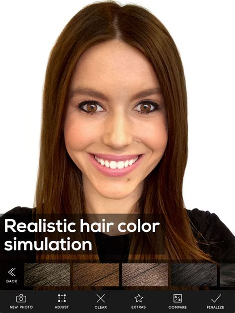 app to test hair color hair color screenshot