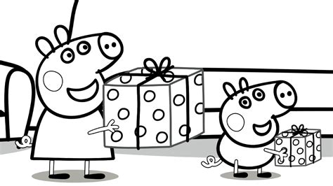 peppa pig birthday coloring page peppa pig birthday coloring pages www imgkid com the