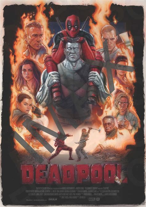 Imax Poster Giveaway - giveaway win a deadpool poster signed by the director imax 174 tickets to the movie