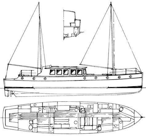 50 60 Pintail Motor Yachts Plans