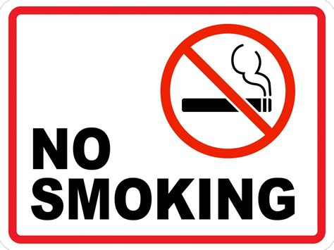 no smoking sign picture no smoking ii wall sign creative safety supply