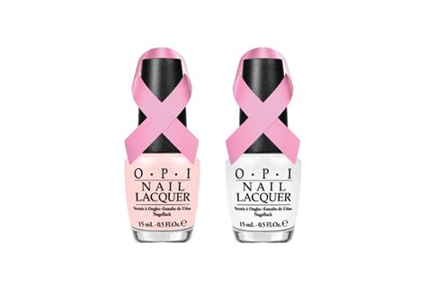Aigner Nails Rosegold think pink in honour of breast cancer awareness month