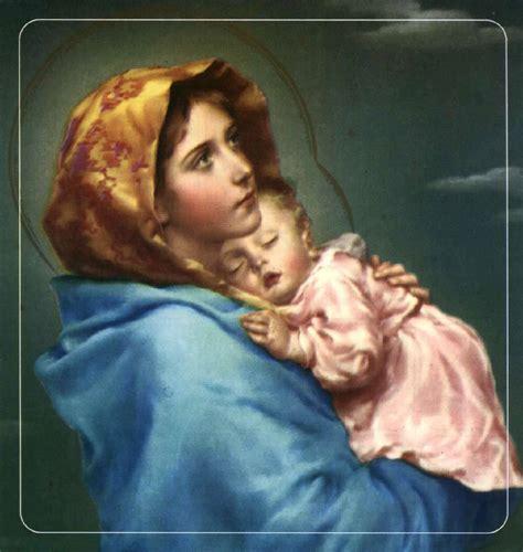 Imagenes Virgen Maria Y El Niño Jesus | la virgen mar 237 a y el ni 241 o jes 250 s imagui