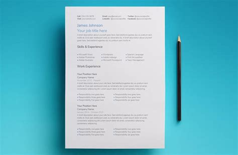 use google docs resume templates for a free good looking resume
