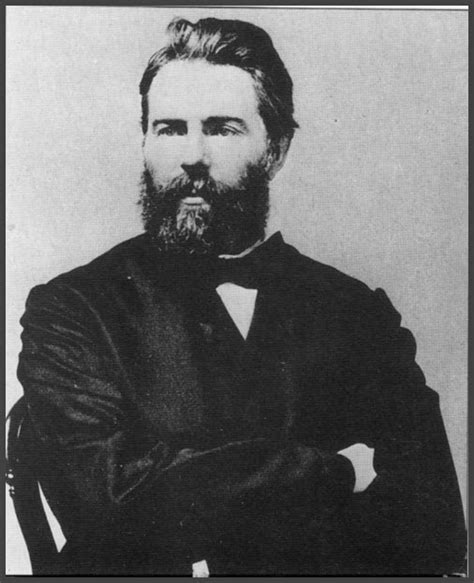 herman melville thomas black publishing a novel for the first time