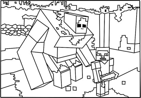 minecraft avengers coloring page minecraft coloring pages getcoloringpages com