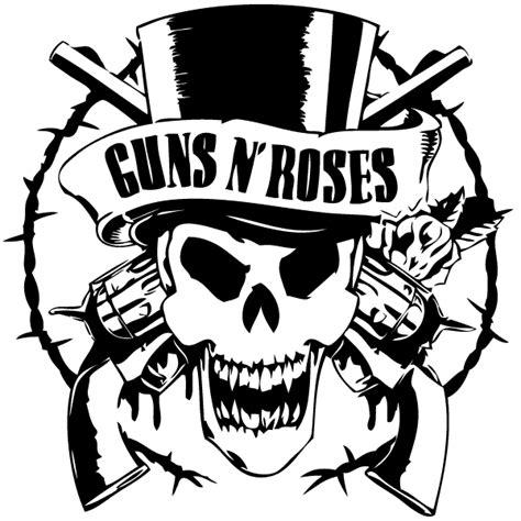 Guns N Roses Logo 2 guns and roses logo black and white www pixshark