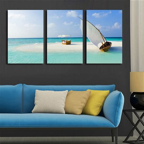 cheap beach home decor seascape oil painting cheap china online wholesale buy