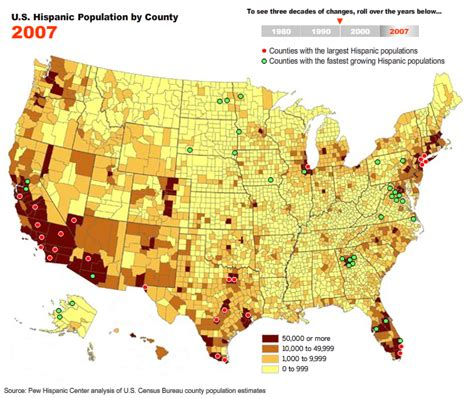 map us hispanic population 2010 types of linguistic maps the mapping of linguistic
