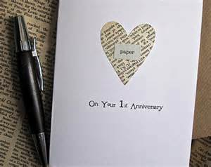 items similar to 1st anniversary keepsake card husband