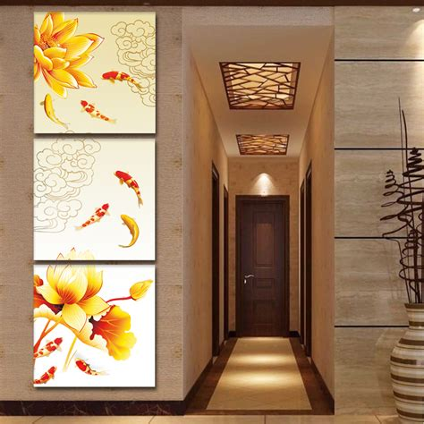 feng shui painting online buy wholesale koi fish oil painting from china koi